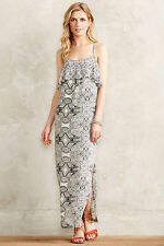 Anthropologie Women's Polyester Spaghetti Strap Sleeve Casual Dresses