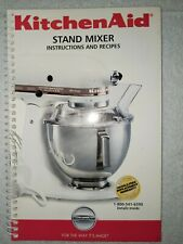 Kitchen Aid Stand Mixer Instructions and Recipes 9706634 KitchenAid 5 Qt 4.5 Qt