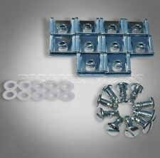 10xDZ3 Schnellverschlüsse Schnellverschluss Fasteners Dzus Drehverschluss Silber