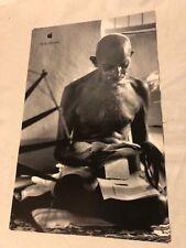 1998 original APPLE THINK DIFFERENT promo poster-MAHATMA GANDHI--11x17--mint NEW