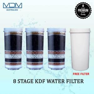 Aimex Water 8 Stage Purifier Filter Cartridge Prestige Healthy Pure BPA Free x 4