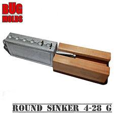 Fishing Sinker Mold -25% Aluminium Fishing Mold Round Sinker 4-28g Cheburashka