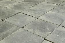 Blausteinplatten 20x20x2,5 geschliffene Oberfläche getrommelt Natursteinpflaster