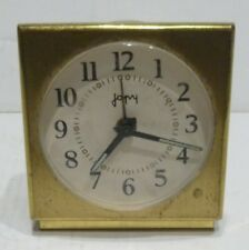 Small Alarm Antique Japy Table Clock Vintage