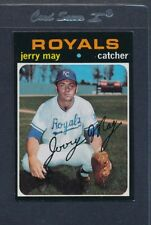 1971 Topps #719 Jerry May Royals EX *5360