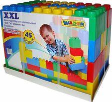 Large Building Bricks Blocks ( XXL 45 Pieces)wader Large Construction