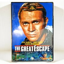 The Great Escape (Dvd, 1963, Widescreen) Brand New & Sealed ! Steve McQueen