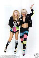Adidas Originals Rita Ora Black Neon Colour Mesh Block Leggings Size UK 8,10 New