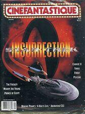 Cinefantastique Magazine Vol 30 No 12 January 1999 Star Trek Insurrection