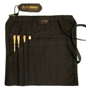 NWT~ Blackwing Waxed Canvas Pencil Roll 4 New Palomino 602 Pencils  Hard to Find