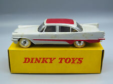 Dinky Toys 192 Desoto Fireflite Sedan Grey and Red in Box