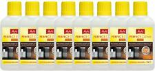 8 X MELITTA PERFECT CLEAN MILK SYSTEM CLEANING LIQUID ESPRESSO MACHINE 6606206X8