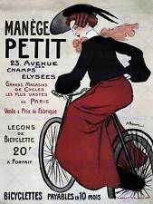 COMMERCIAL ADVERT MANEGE PETIT BICYCLES VINTAGE FRANCE POSTER ART PRINT BB1893B