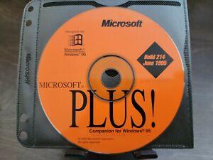 "ULTRA RARE: Microsoft PLUS! ""Companion for Windows 95"" Beta Build 214 CD"