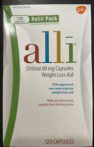 alli Orlistat 60mg Weight Loss Supplement Pills - 120 Count