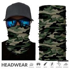 Face Shield Official Green Military Camo Sun Mask Fishing Balaclava Neck Gaiter