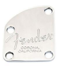 "Fender® American Elite Series Neck Plate~Chrome~""Corona Ca"" Stamp~Brand New"