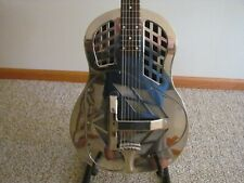 Tricone Resonator Guitar Chrome Body Round Neck (The Blues/ Country)!