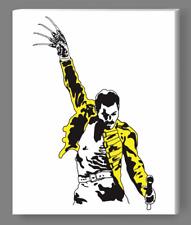 Freddie Mercury Freddy Krueger Queen Nightmare On Elm Street Painting Art Banksy