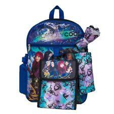 Disney's Descendants Kids Backpack, Cinch Sack,Lunch Bag, Zip Pouch Water Bottle