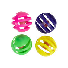 Hartz MIDNIGHT CRAZIES Cat Toy Lattice Play Balls with Bell - 8 pack