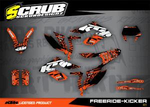 KTM graphics Freeride 250 350 Electric 2012 - 2020 '12 thru '20 decals