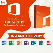 Microsoft Office 2019 Professional Plus Key Genuine Code Instant Delivery