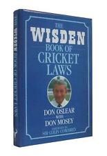 Don Osler & Don Mosey - The Wisden Book of Cricket Laws - Signed 1st UK Edition