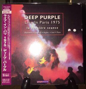 DEEP PURPLE-Live In Paris 1975, Japan MINI LP 2 CD w/OBI VPCK-85332 OOP Pristine