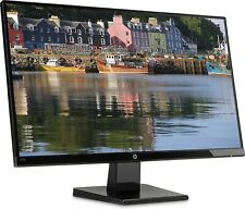 HP 27w Monitor 68,58 cm 27 Zoll Monitor Full HD HDMI 1920x1080 Rechnung D49560