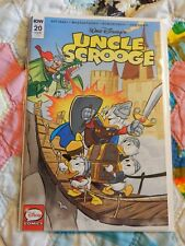 IDW COMIC DISNEY'S UNCLE SCROOGE #424 OR #20 RI RETAILER INCENTIVE COVER