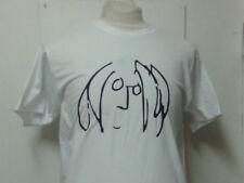 John Lennon Self Portrait Sketch The Beatles T-shirt Album 60s Vintage Style LP