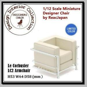 Dollhouse 1/12 Miniature Interior Designer Chair Collection RARE CP01