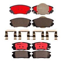 Front & Rear Brembo Ceramic Brake Pad Set Kit For Chevrolet Equinox GMC Terrain