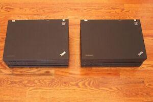 """ThinkPad T500 4 GB/120 GB SSD/15"""" 1680x1050/ Windows 7 Pro. Ready to Use"""