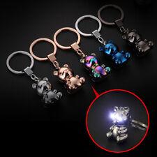 Car Creative Bear Key Chain Keychain Ring Keyfob Zinc Alloy Buckle Key Holder Fits Kia Soul