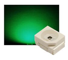 50 St SMD LED PLCC 2 Sop - 2 Gruen máx. 1200mcd ultrahell
