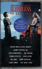 """CELINE DION AND CLIVE GREEN """"SLEEPLESS IN SEATTLE"""" CASSETTE 1993 epic soundtrax"""