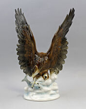 Porzellan Figur Vogel Seeadler Wagner & Apel H31cm 9942494
