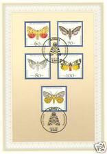 BRD 1992: Schmetterlinge! Ersttagsblatt der Jugendmarken Nr 1602 - 1606! 1601