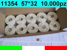 11354 10x ROTOLI ETICHETTE COMPATIBILI DYMO LABELWRITER 57x32mm