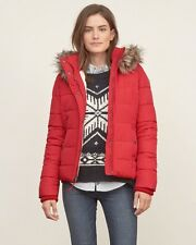 Abercrombie and Fitch women's premium puffer jacket