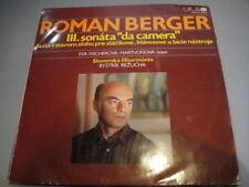 Berger Romain: 3th SONATA/NES en style ancien. FISCHEROVA-martvonova-piano moderne