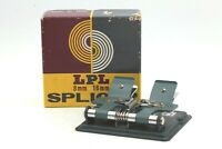 【EXC+++++ / Boxed】 LPL Co Ltd Vintage SPLICER for 16mm 8mm Movie Film From JAPAN