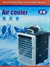 UK Mini Air Cooler Portable mini Air Conditioner Humidifier Purifier Fan 3 in 1
