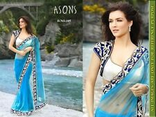 Veeraa Saree Exclusive Beautiful Designer Bollywood Indian Partywear Sari 105