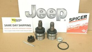 Jeep Dana 44 1974-1988 Upper And Lower Ball Joint Kit J10 J20 Cherokee OEM