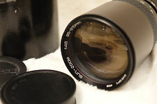 Con Custodia Originale Sole Auto Zoom 85-210mm f4.5 Olympus OM FIT