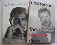 Lot 2 American Song Composer Diarist Paris Diary Ned Rorem New York DJs Illus.