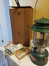 Vintage Coloman Lantern, Case and Extras